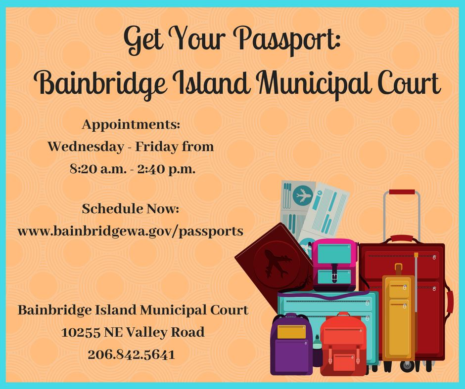 Passport Services at Municipal Court