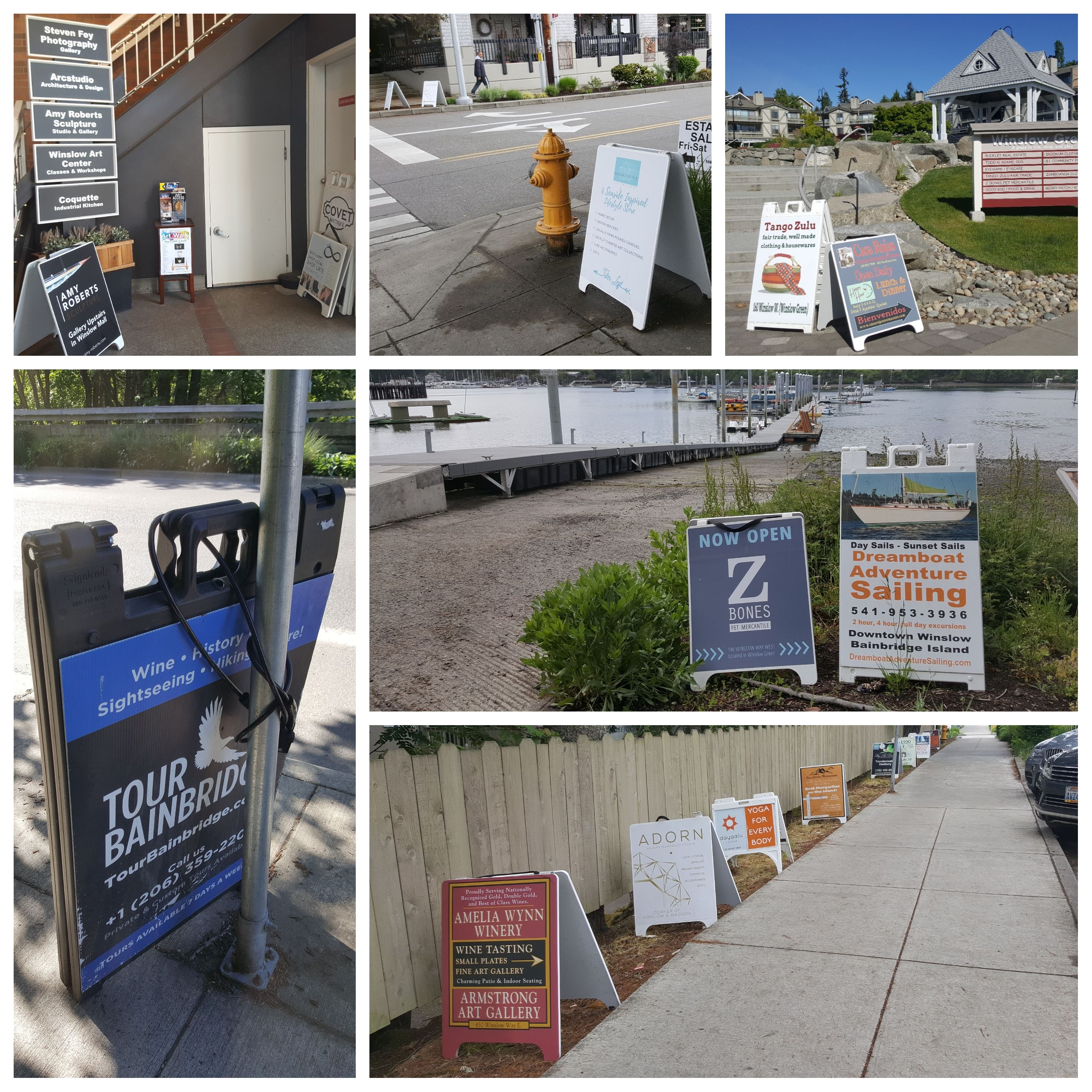 Sandwich Board Grid