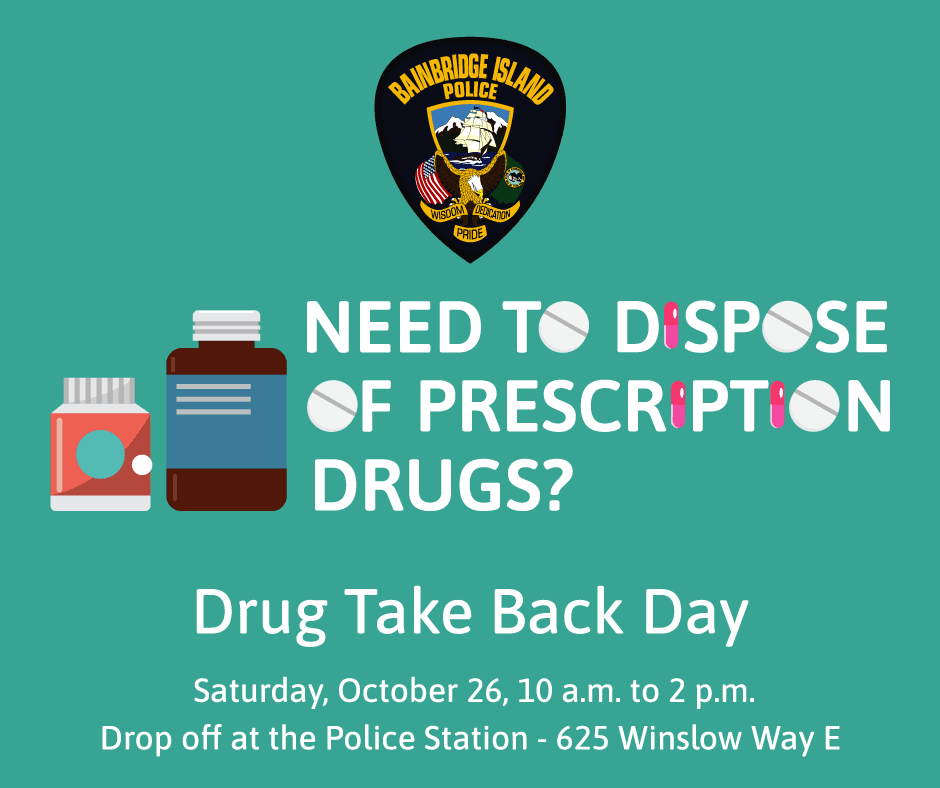 Drug Take Back Day - October 2019